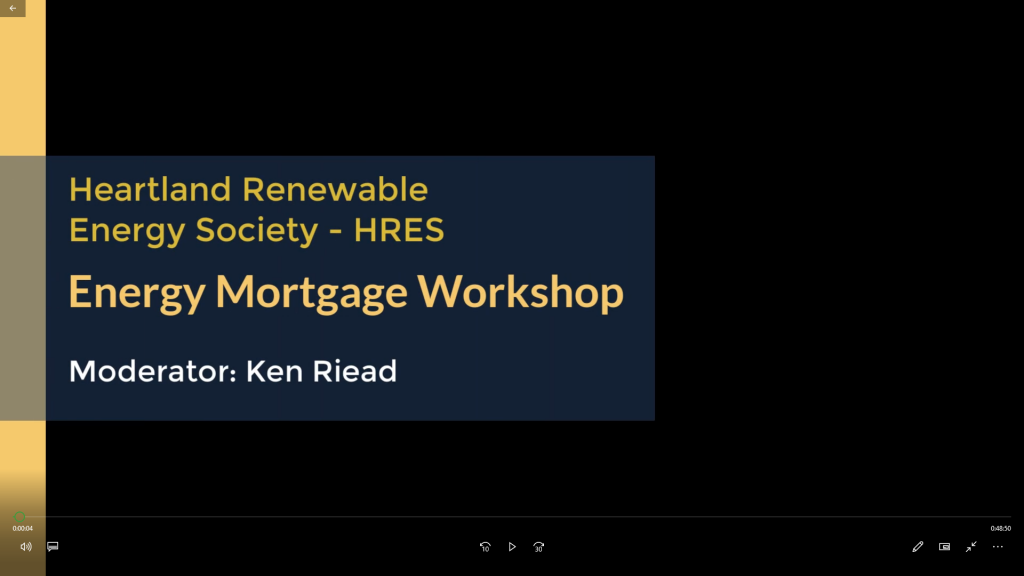 HRES Energy Mortgage Video